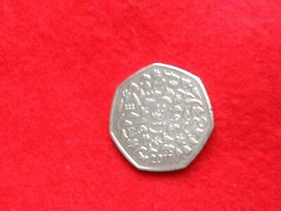 2011  WWF   50 pence Olymipic  coin