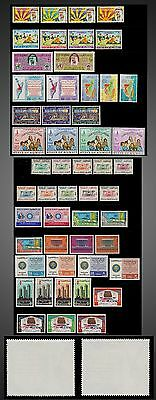 1968 Kuwait Almost Complet Year - Mint Hinged No Remained Paper -Complete Issues