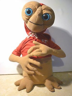 """E.T. Soft Toy Red Hoodie Universal Studios 13"""" Tall"""