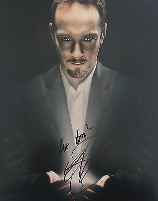 Derren Brown Personally Signed Photo, Proof Shown, 5