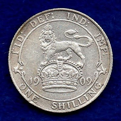 Great Britain, Edward VII, 1909 Shilling (Ref. c5872)