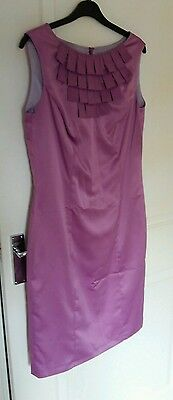 Lilac coctail / bridesmaid / mother of the bride dress size 12