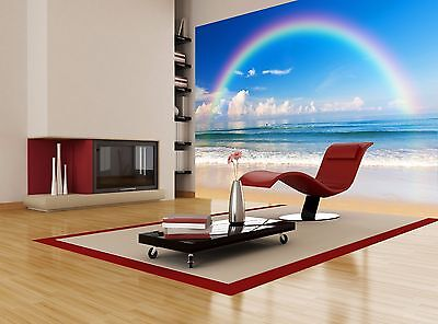 Rainbow Veiw Modern Wall Mural Photo Wallpaper Image Decor Giant Paper Poster