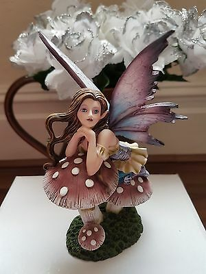 Lunaria The Toadstool Fairy Figurine/ornament, Designed By Nemesis Now, Boxed