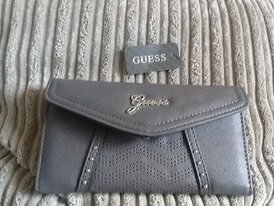 Genuine Guess Charcoal Purse