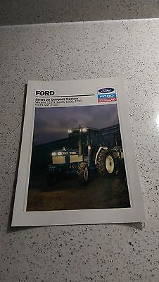 Ford 1120 1220 1520 1720 1920 2120 compact tractor brochure