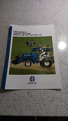 Ford New Holland 1220 1520 1720 1920 2120 compact tractor brochure