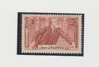 Timbres France- N° 318 neuf sans charnière
