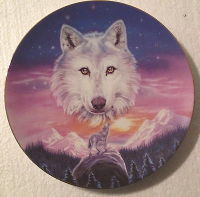 Collectable Wolf Plate - 8 1/4 Inches - Hamilton - Valley Of The Wolf