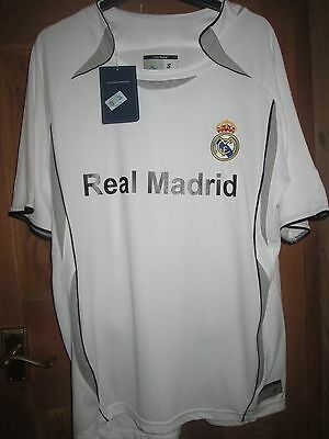 New With Tags Official Real Madrid Football Shirt,dc,draps,drapscentre,home Sml