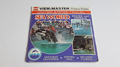 Viewmaster packet set 3d SEAWORD SHOWS AND ANIMALS