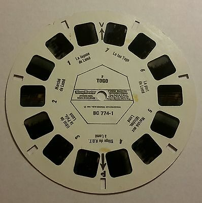 Viewmaster three reel set 3d TOGO rare made in belgium issue