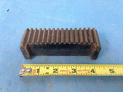 "Industrial Steel Rack Gear 4.25"" L x 1-1/8"" Wide"