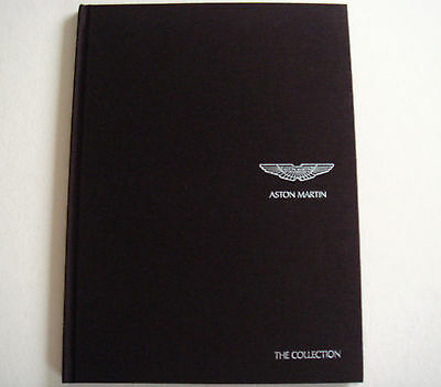 Aston Martin . The Collection . Hard backed Sales Brochure