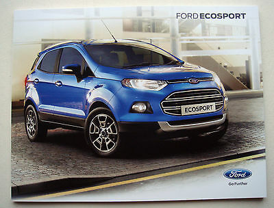 Ford . Ecosport . Ford Ecosport . January 2016 Sales Brochure
