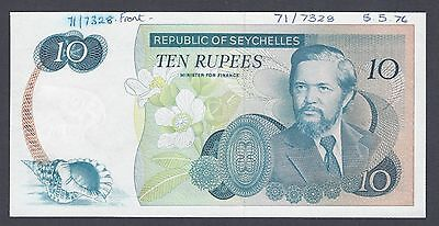 Seychelles 10 Rupees  ND 5-5-1976  P19p Proof  Uncirculated