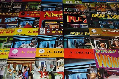 Lot 20 X Lp Vinyl *a. Decap - Sound* Disques 33 Tours