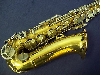 Quality!  King 613 Alto Saxophone Made In The Usa + Mouthpiece + Case