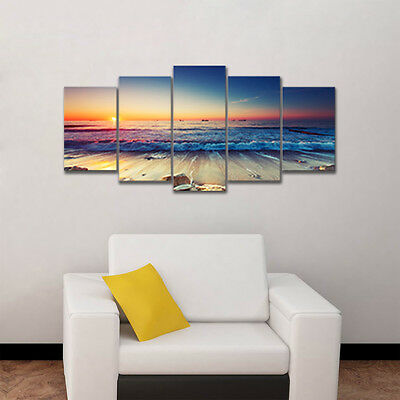 Canvas Print Painting Pictures Photo Home Decor Wall Art Sea Landscape Framed