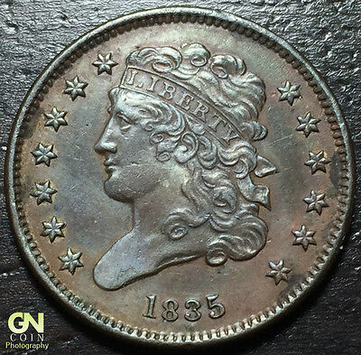 1835 Classic Head Half Cent --  MAKE US AN OFFER!  #Y5950
