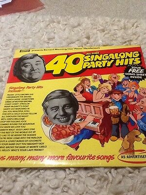 40 All Time Singalong Party Hits LP.