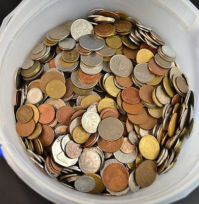 4 Lbs. Of World Coins, Nice Foreign Lot...................................L2206
