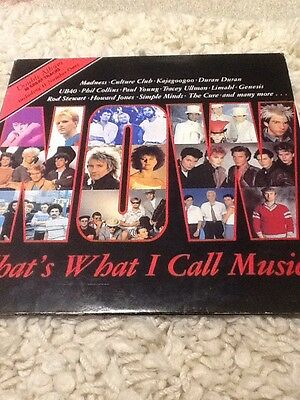 1st Ever Now That's What I Call Music LP. Excellent Condition.