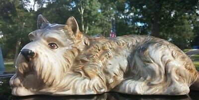 Schnauzer,The  LOVABLES, by SHAFFORD,© figurine,PORCELAIN,CERAMIC,HAND PAINTED