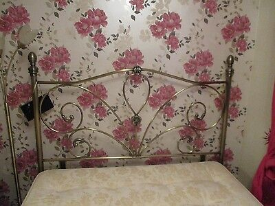 Antique Gold Headboard For Double Bed