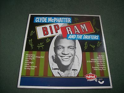 Clyde McPhatter & The Drifters - Bip Bam comp. LP UK issue 1984 on Edsel ED 132