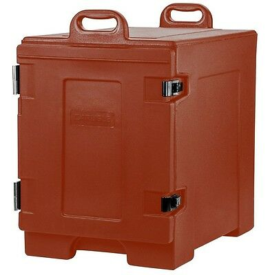Insulated Food Carrier Catering Restaurant Commercial Hot Cold Pan Delivery Red
