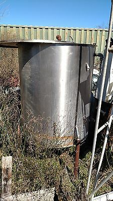 250 gal. Stainless Steel Tank, Food Grade
