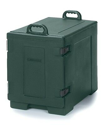 Insulated Food Carrier Catering Restaurant Commercial Hot Cold 5 Pan Green Serve