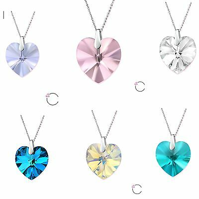 SWAROVSKI Crystal Elements Necklace Sterling Silver  - NEW