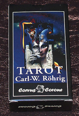 Rohrig Tarot (Röhrig) deck, DARK Black Uncensored Edition, brand new, russian