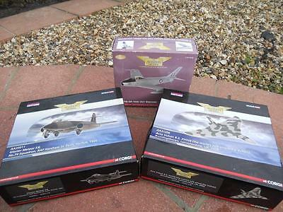 Job Lot Of 3 Corgi 1/72 Scale Limited Edition Diecast Aircraft Look Bargain!!