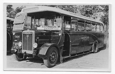 Trent Motor Traction Bus, Derby Excursion Bus, Single Deck, Rp.