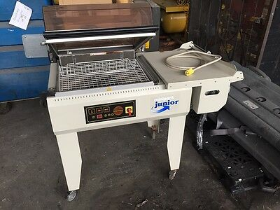 MiniPack Torre L Bar Sealer and Shrink Wrapping Machine Excellent Condition