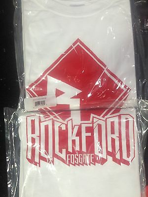 ROCKFORD FOSGATE shirt t-shirt LARGE Diamond R red logo tee NEW