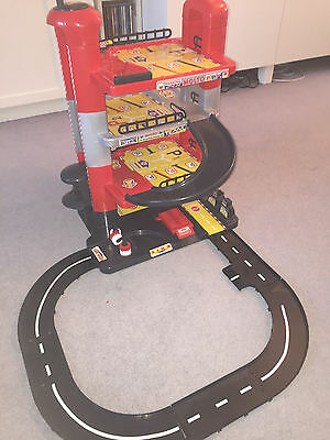 KIDS MOLTO CAR PARKING GARAGE 4 STOREY! play wheels tracks cars toy Age 3+