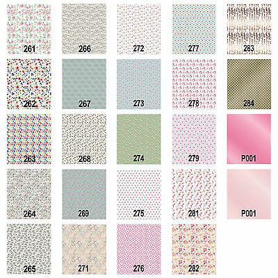 Craft Consortium Decoupage Printed Paper Spring Collection - Pack of 3