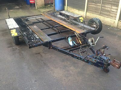 Car Trailer Twin Axle Transporter