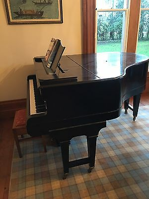 Baby Grand Piano by Weber