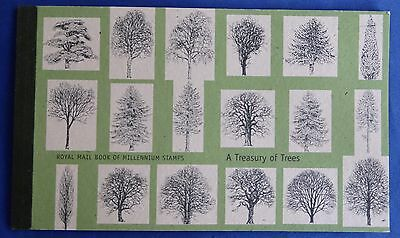 Royal Mail Stamps Prestige Booklet A TREASURY OF TREES 2000