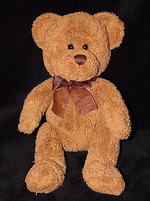 Chad Valley Teddy Bear Soft Toy Chocolate Brown Comforter Doudou