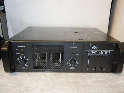 Peavey CS 400 Power PA Amplifier-Made in USA-Superb Sound.