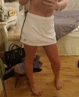 fred perry tennis skort ..skirt/shorts attatched underneath size 10
