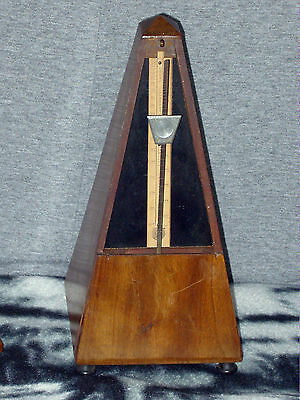 Antique Maelzel Paquet 1815-1846 Mahogany Metronome In Good Working Order & Cond