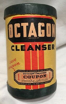 Vintage Octagon Cleanser Made By Colgate Palmolive Peet Co.