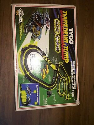 Rare Vintage Tyco Slot Car Track With Nite Glow (track Only - No Cars )